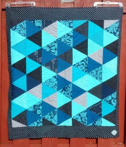 Francesca triangle quilt